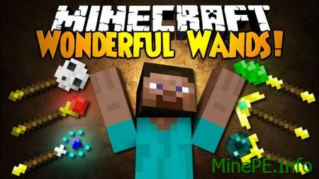 Мод Wonderful Wands 1.9