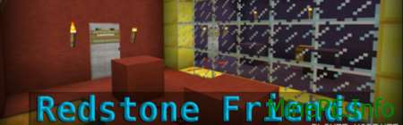 Карта Redstone Friends на Майнкрафт ПЕ 0.15.0