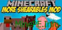 Мод More Shearables 1.9