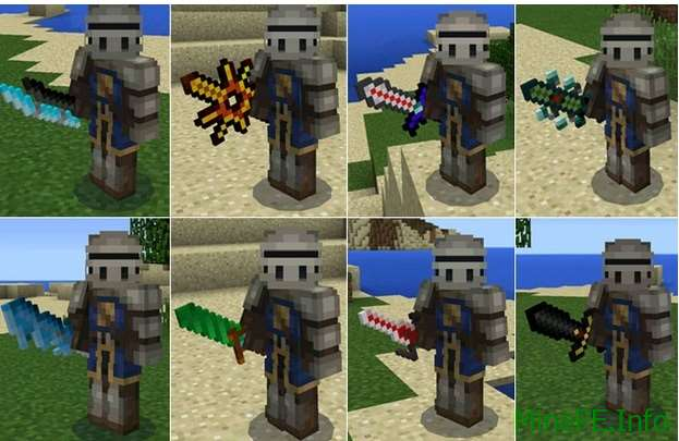 Мод More Swords PE 0.14.0
