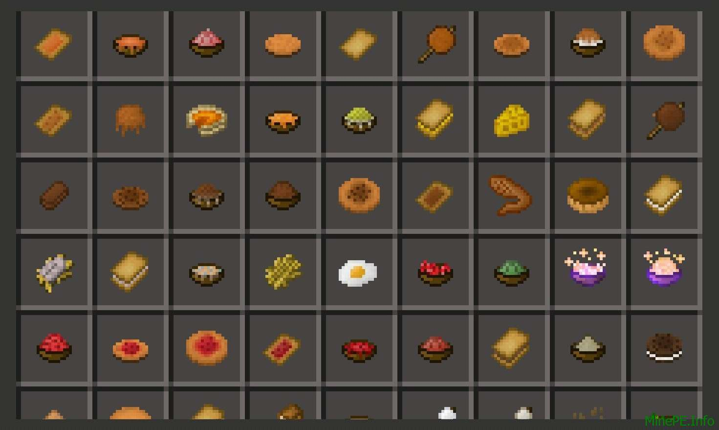 Мод Usefull Food PE 0.14.0 / 0.14.1 / 0.14.2 / 0.14.3