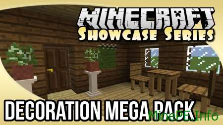 Мод Decoration Mega Pack 1.9