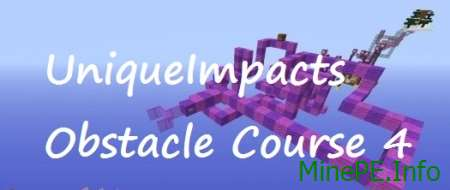 Карта UniqueImpacts Obstacle Course 4 для Майнкрафт 1.9 / 1.9.2 / 1.9.4