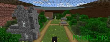 Карта Rugged Jungle Mansion для Minecraft PE 0.15.9, 0.15.7, 0.15.6, 0.15.4