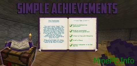 Мод Simple Achievements 1.9.4, 1.9.2
