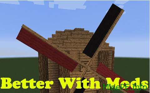 Мод Better With Mods 1.9.4, 1.9.2