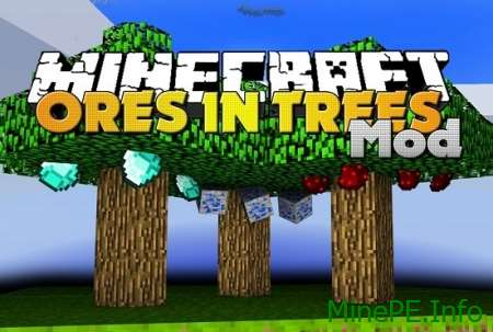 Мод Plants Tree Ores 0.15.10, 0.15.9, 0.15.8