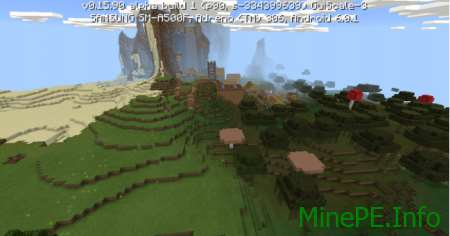 Сид The village is on the slop 0.16.0