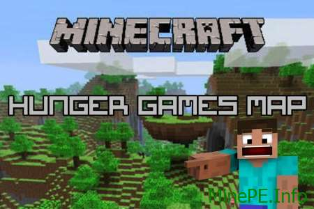 Карта Epic Hunger Games Map 0.16.0