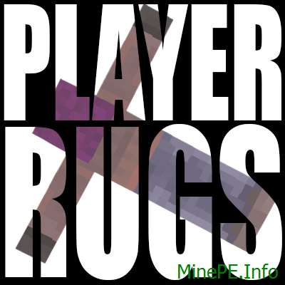 Мод Player Rugs 1.9.4, 1.9.2