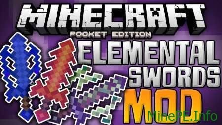 Мод Elemental Swords 0.15.10, 0.15.9, 0.15.8