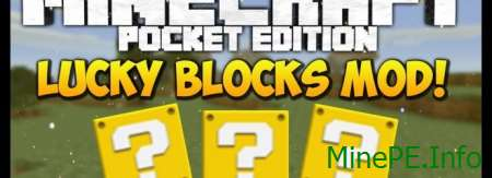 Мод Lucky Blocks PE 0.16.0
