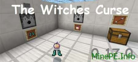 Карта The Witches Curse MCPE