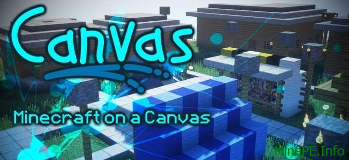 Текстур пак Canvas HD [128x] 1.10.2