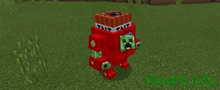 Мод Mega Creeper 1.0.0/0.17.0