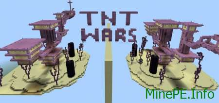 Карта The End TNT Wars (PvP) 1.0.0