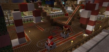 Карта Christmas Theme Park 1.0.0 (0.16.0, 0.17.0)
