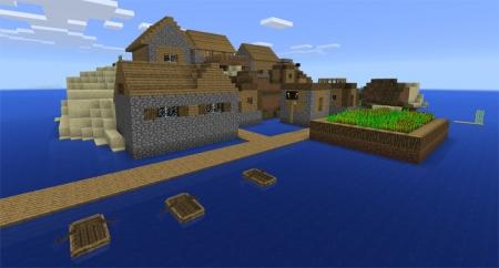 Сид на остров с деревней 1.0.0 (0.16.0, 0.17.0)