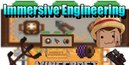 Мод Immersive Engineering на Майнкрафт 1.7 на машины