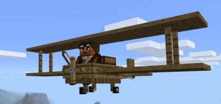 Аддон на деревянный самолет 1.0.0 (0.16.0, 0.17.0)