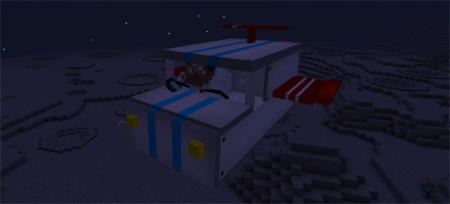 Аддон Spaceship Addon 1.0.0 (0.16.0, 0.17.0)