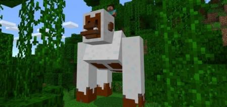 Аддон Giant Snow Gorilla Addon 1.0.0 (0.16.0, 0.17.0)