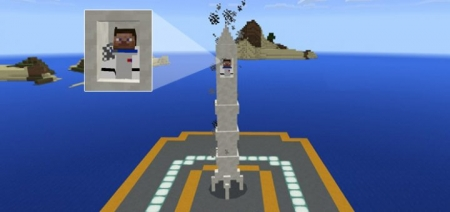 Аддон Mine-Rocket Add-on 1.0.0 (0.16.0, 0.17.0)