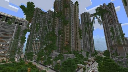 Карта Apocalyptic City (PvP) 1.0.0 (0.16.0, 0.17.0)