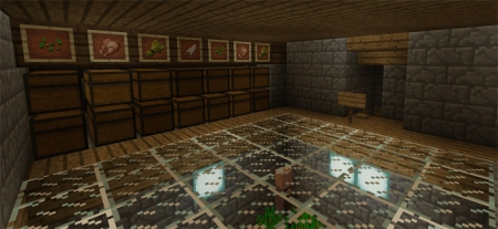 Карта Piston House (Redstone) 1.0.0 (0.16.0, 0.17.0)
