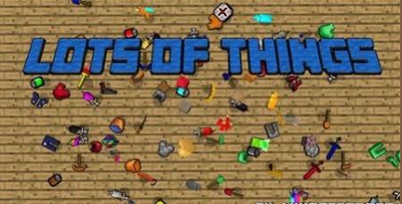 Мод Lots of Things на Майнкрафт 1.7 на мебель