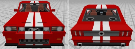 Аддон Sports Car: Ford Mustang 1.0.0 (0.16.0, 0.17.0)