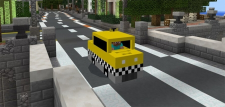 Аддон Mine-Taxi Add-on 1.0.4, 1.0.3, 1.0.0