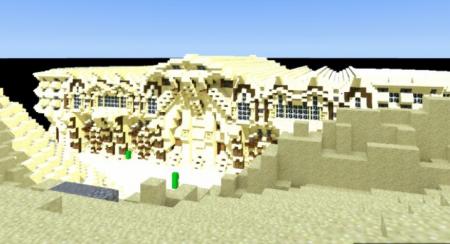 Карта Desert mansion для Майнкрафт 1.7, 1.7.10