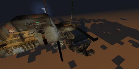 Карта Выбраться из подземелья для Майнкрафт 1.7, 1.7.10 на прохождение