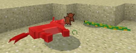Аддон Mine-Snakes 1.0.6, 1.0.4, 1.0.0