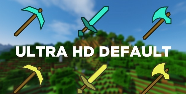 Текстур пак Ultra HD Default [128x] 1.11.2