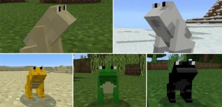 Аддон на мини лягушек 1.0.6, 1.0.4, 1.0.0