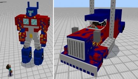 Аддон Transformers Addon 1.0.6, 1.0.4, 1.0.0