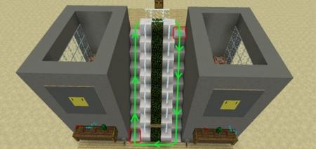 Карта Working Escalator (Redstone) 1.0.6, 1.0.4, 1.0.0
