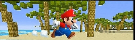 Паркур карта Mario Sprint для Майнкрафт 1.7, 1.7.10
