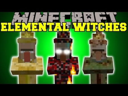 Мод Elemental Witches 1.0.6, 1.0.4, 1.0.0