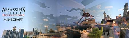 Паркур карта Assassin's Creed Revelations Constantinople  для Майнкрафт 1.7, 1.7.10