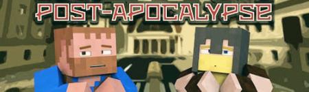 Карта апокалипсис Metro Post-Apocalypse для Майнкрафт 1.7, 1.7.10