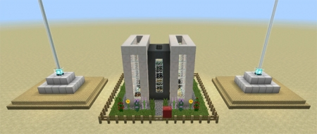 Карта Controllable Flying House (Redstone) 1.1.0.4