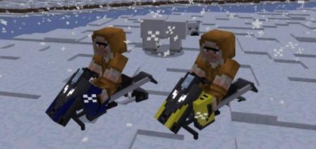 Мод Snowmobile 1.0.6, 1.0.4, 1.0.0