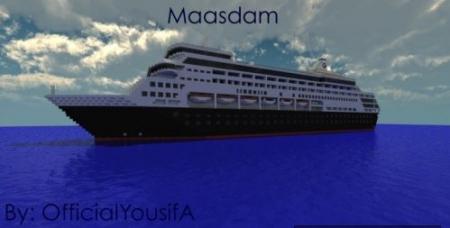 Карта Maasdam для Майнкрафт 1.7, 1.7.10