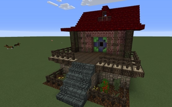 Мод Vanilla Builders Extension 1.11.2 на мебель
