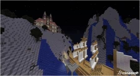 Карта Haunted Mansion для Майнкрафт 1.7, 1.7.2, 1.7.10
