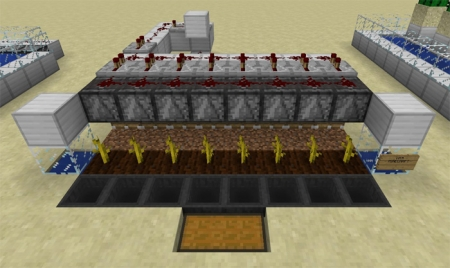 Карта 12 Useful Farms in Survival Mode 1.0.7, 1.0.6, 1.0.0