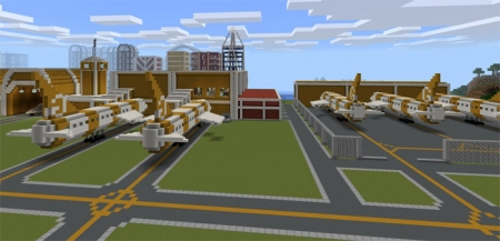 Карта GoldenBurg City 1.0.7, 1.0.6, 1.0.0